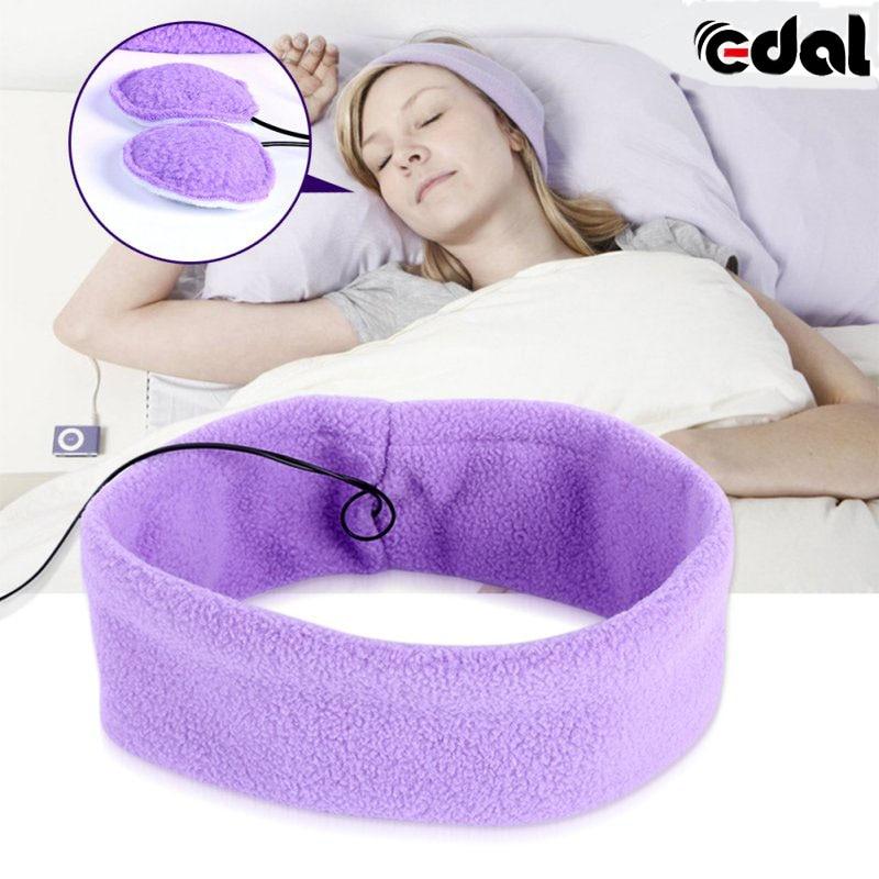 EDAL Washable Anti-noise Headset Sport Running Sleeping Earphones Bundle Music Headband Sleep Headphones For IPhone SamSung