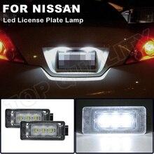 Für Nissan Altima 2019 2020 Serena C27 Suzuki Landy 2016  Dacia Duster 2017  OEM #:265108990E 12V LED Lizenz Nummer Platte Licht