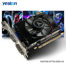 Yeston GeForce GT 730 GPU 2GB GDDR5 64 bit Gaming Desktop computer PC Video Graphics Cards unterstützung HDMI-kompatibel/VGA/DVI-D