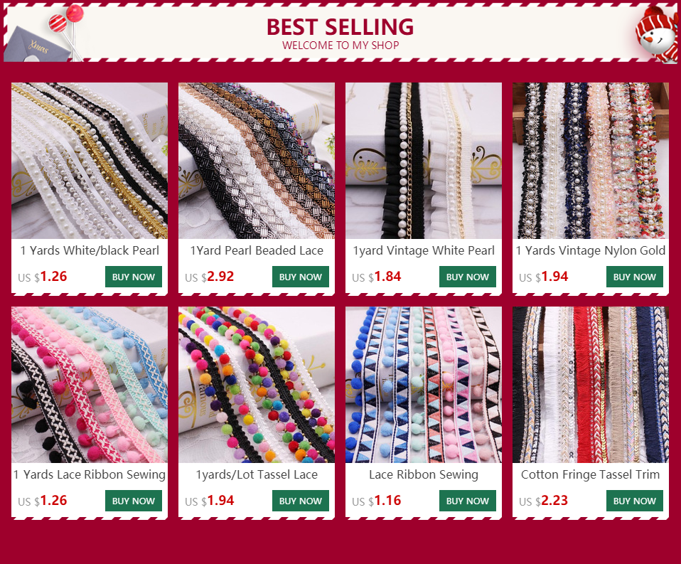 H7505d4682d564a35a5834b170a8af829g 1 Yards White/black Pearl Beaded Lace Trim Tape Lace Ribbon African Lace Fabric Collar Dress Sewing Garment Headdress Materials