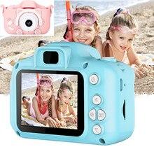 Trẻ Em Trẻ Em Camera Trẻ Em Mini Đồ Chơi Giáo Dục 1080P Chiếu Camera Bé Món Quà Sinh Nhật HD Máy Ảnh Kỹ Thuật Số Sạc/TF