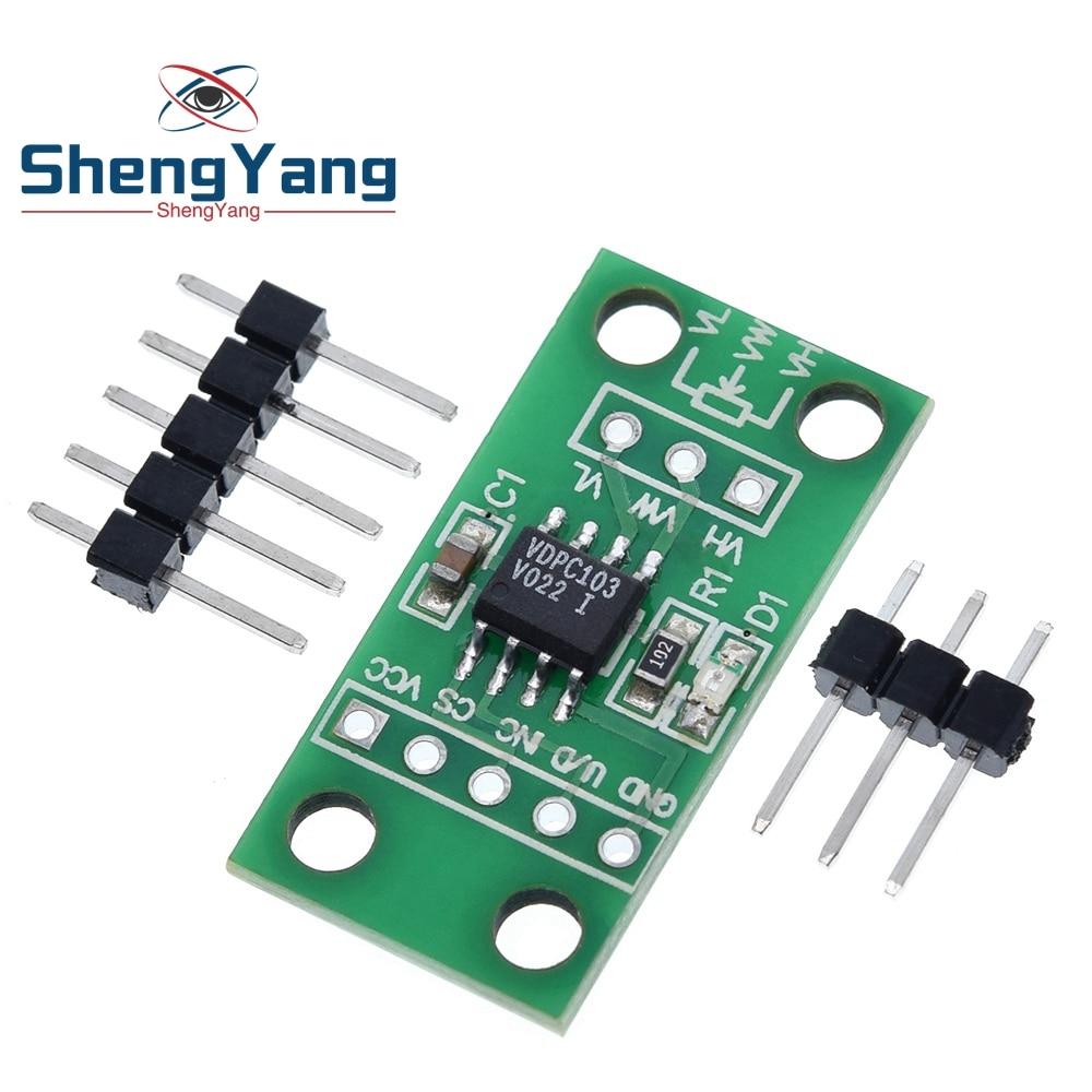 ShengYang X9C103S плата цифрового потенциометра, модуль для Arduino, для Arduino