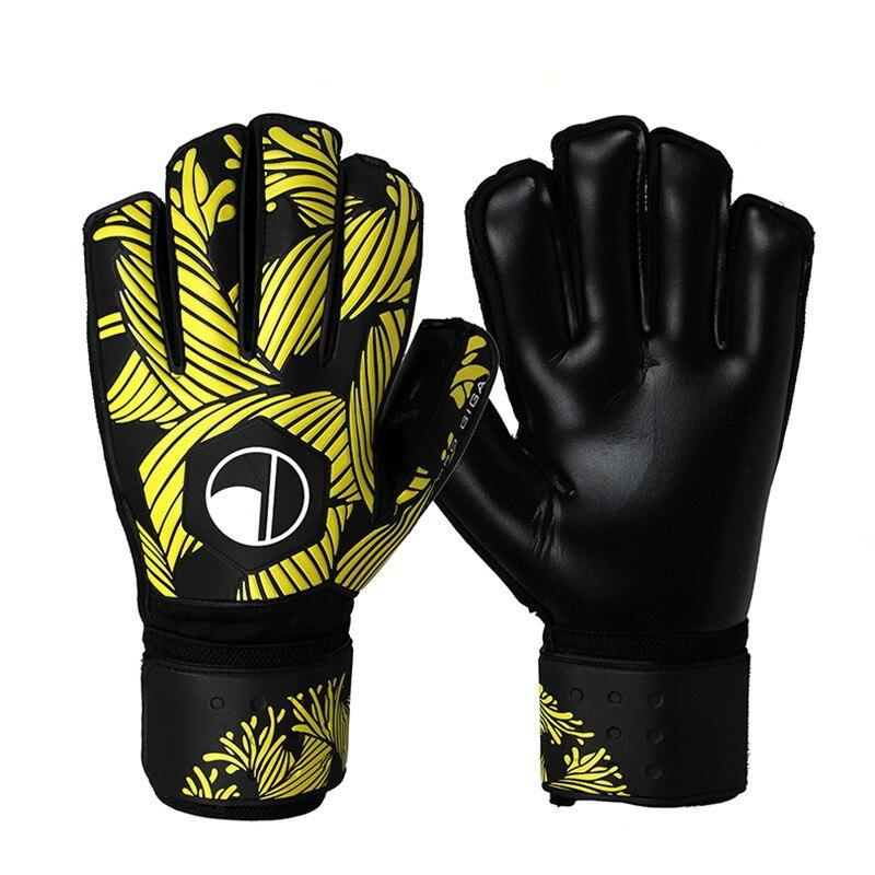 Профессиональные перчатки вратаря с защитой пальцев, утолщенные латексные футбольные перчатки, перчатки вратаря