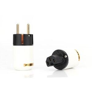 Image 5 - HIFI P 320/C 320 Đồng EU/Mỹ Schuko AC Cắm Điện Ver IEC Cổng Kết Nối MATIHUR Đôi