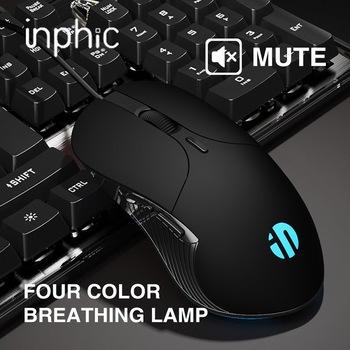 Zawód przewodowa mysz do gier mysz 6 przyciski 4800 DPI ledowy USB optyczny komputera myszka do PC laptop tanie i dobre opinie CN (pochodzenie) PRZEWODOWY 3000 Optoelektroniczne Dla palców Zasilana akumulatorem Dec-04 Obie ręce