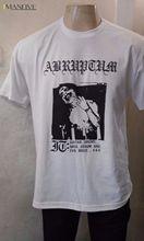 ABRUPTUM - It T Shirt DARKTHRONE Mayhem 1Burzum Black Metal Marduk BEHERIT Vondur Casual T-Shirt Male Short Sleeve Pattern