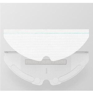 Image 3 - Bộ 60 Thay Thế Dùng Một Lần Lau Vải Cho Xiaomi Roborock S6 T6 S5 Max E35 Robot Hút Bụi Moping Vải Lót các Bộ Phận