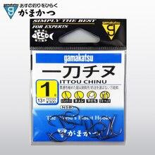 Gamakatsu рыболовные крючки 6 упаковок/Лот колючие крючков 1