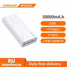 30000 мАч Внешний аккумулятор Teclast C30L портативный внешний аккумулятор большой емкости портативное зарядное устройство для телефона