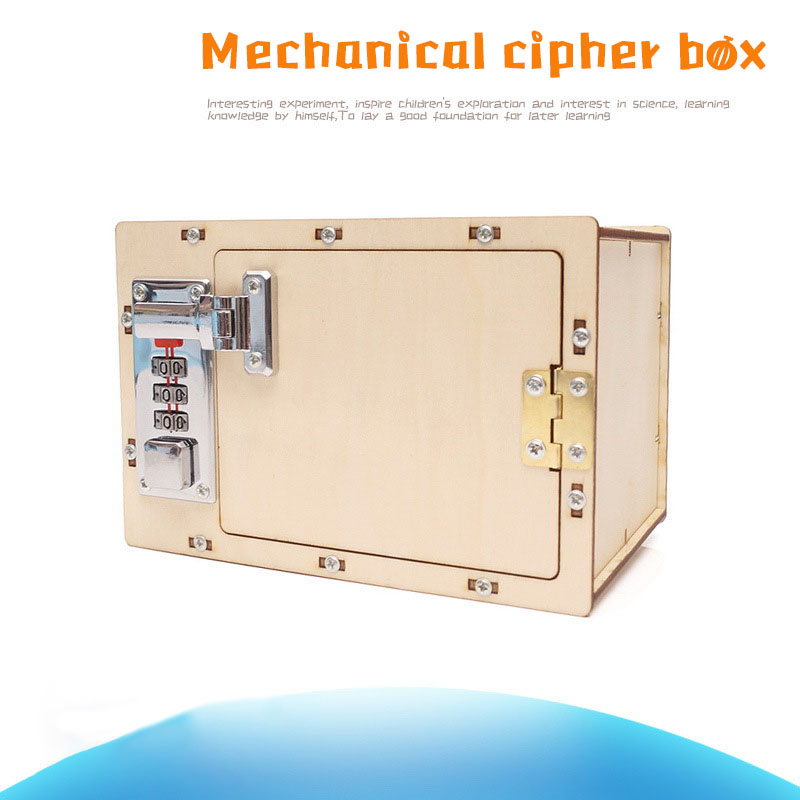 Science Small DIY Mechanical Password Box Science Experimion Science And Education Toys In Primary And Secondary Schools