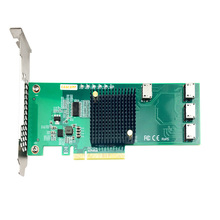 Cable Controller Pcie SSD U.2 And To Exp ANOL4PE08 SFF8611 12gbs Oculink Quadport Not-With
