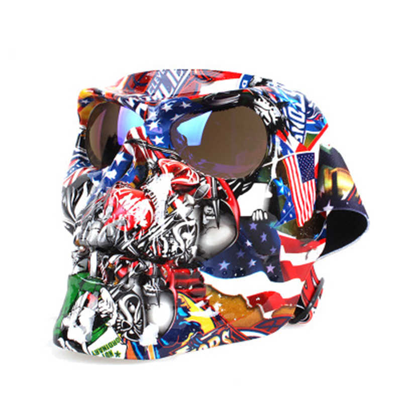 EKIND череп ретро Harley тактическая маска модные очки пластиковая маска для Nerf N-strike Элитная игрушка для игры в войнушки