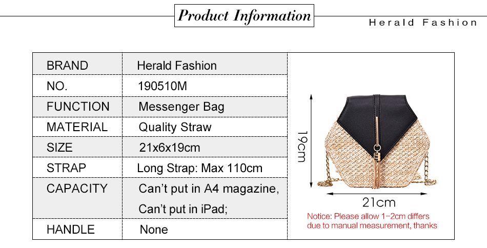 H75076b834df54685aa2146eae2adb24a5 - Mulit Style Straw leather Handbag Women Summer Rattan Bag Handmade Woven Beach Circle Bohemia Shoulder Bag New Fashion