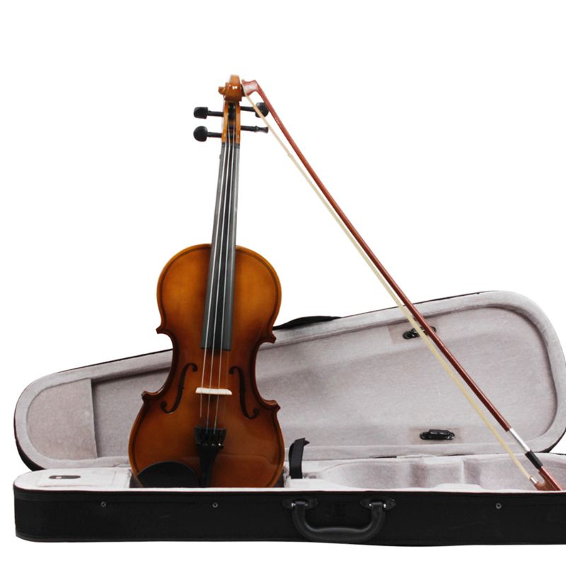 ASTONVILLA Retro Light Violin High-Grade Basswood Maple Durable Violin Crisp Soft Sound Quality Popular Stringed Instruments