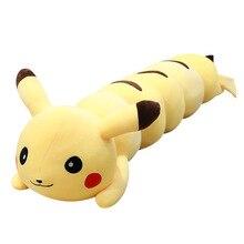 110Cm 1.3Kg Long Soft Caterpillars Pikachued Pillow Plush Doll Sleeping Toy
