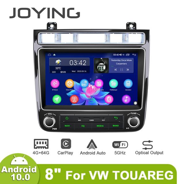 """New Porduct 8""""Head unit Android 10 Auto Car Radio Stereo For Volkswagen VW Touareg Multimedia Carplay Cassette Tape Recorder"""