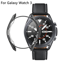 Galaxy Watch 3 Case For Samsung Galaxy Watch 3 45mm 41mm Soft TPU Screen Protector Cover Bumper R840 R850 Cases Accessories