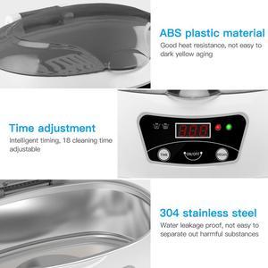 Image 5 - SKYMEN ultrasonik temizleyici 600ml 35W 40kHz ultrasonik çamaşır para paraları takı pedikür tırnak sanat araçları temizleyici