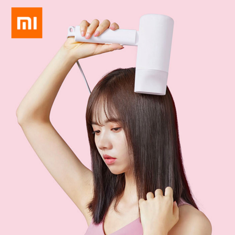 xiaomi professional hair dryer blow dryer Anion hair care Quick drying Foldable and portable fohn