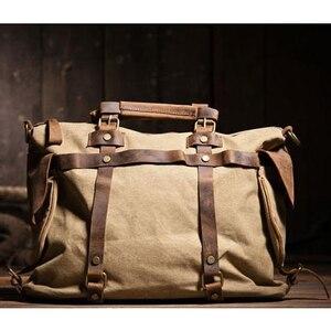 Винтажная Мужская парусиновая сумка унисекс, мужская сумка через плечо, мужская сумка на плечо, сумка-тоут, сумка для отдыха, M311
