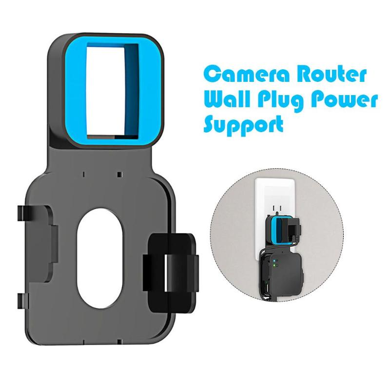 Universal Outlet Wall Mount Outlets for Blink XT Camera Router Module Easy Installation Home Socket Holder Stand with USB Cable image