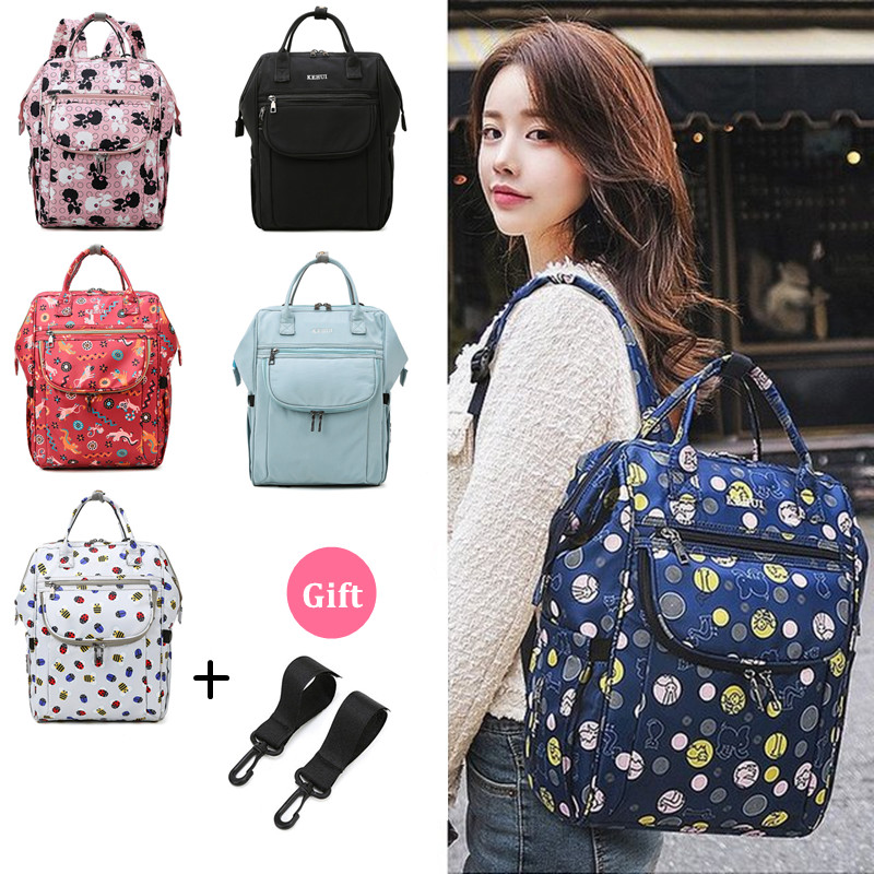 Maternal Mama Big Baby Travel Handbag Hanging Mammy Wet Dry Bag Diaper Bag Baby Maternity Backpack For Mom Mommy Women's Nappy