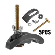 Machine-Parts Working-Table T-Slot Pressure-Plate Clamp-Fixture Engraving for Bow-Plate-Sets