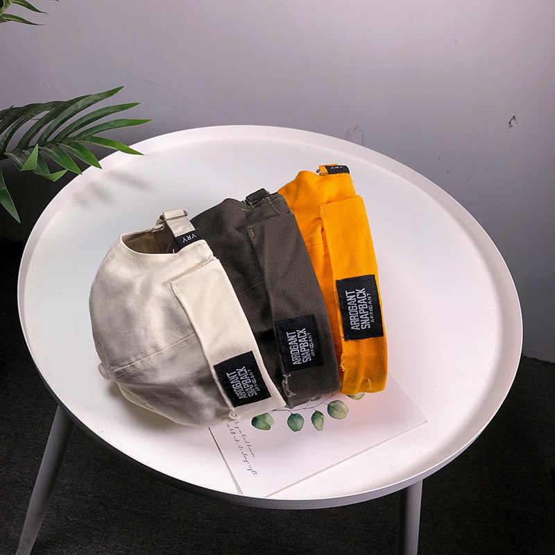 Модная Регулируемая унисекс Docker Sailor Байкерская кепка Повседневная хлопковая безрукавка шапка-чулок оранжевого цвета