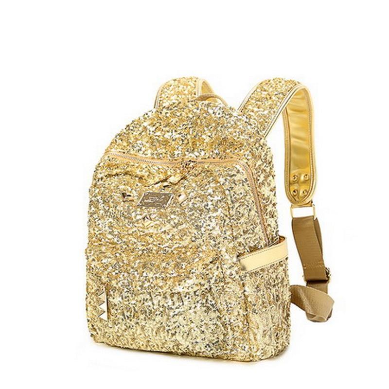 Full Sequins Bling Bling Shine Glitter Gloris Bags Present Gift Golden Chic Fashion Bags