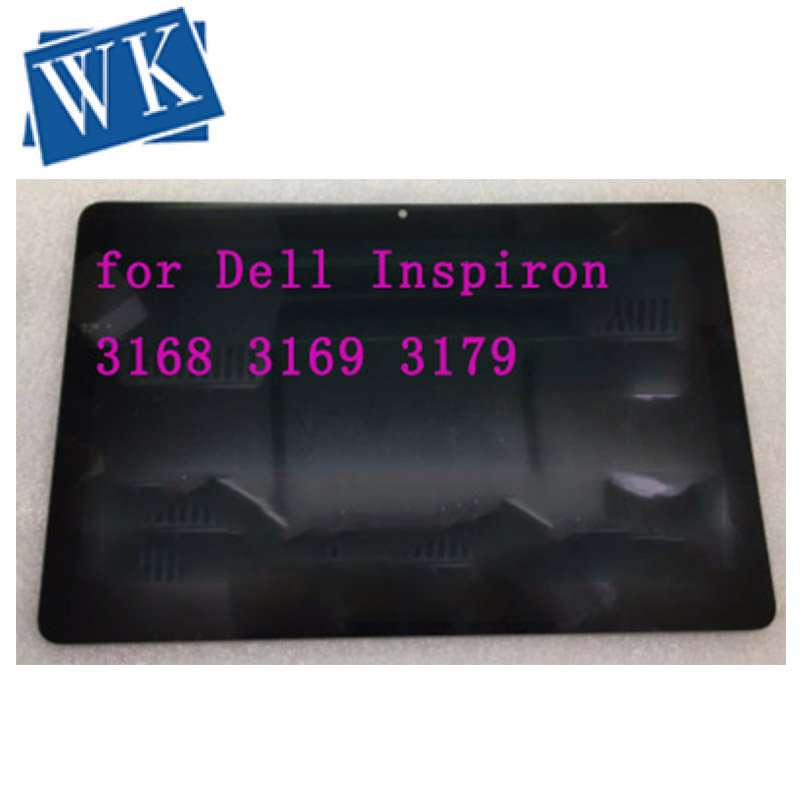 """Original 11.6"""" LCD Touch Panel Digitizer Screen Assembly for Dell Inspiron 3168 3169 3179 P25T B116XTB01.0 LCD Display 1366*768"""