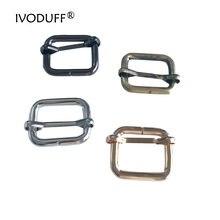 Металлический ремень 3/4 дюйма квадратное кольцо пряжка для