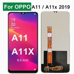 Черный 6,5 Дюймов Тонкий Высококачественный защитный чехол для Oppo A11 / A11x 2019 ЖК-дисплей Дисплей кодирующий преобразователь сенсорного экрана ...