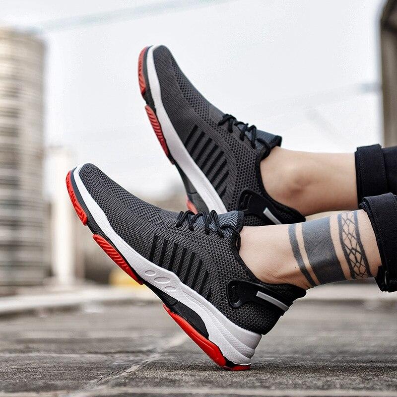2020 novos homens vulcanizar sapatos tênis desgastar-oposição