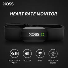 XOSS Chest Heart Rate Sensor Monitor Strap Bluetooth ANT+ Wireless Health Fitness Smart Bicycle Sensor