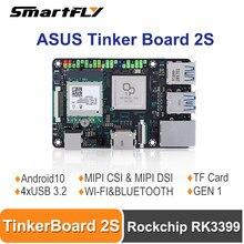ASUS Tinker Board 2S Rockchip RK3399 komputer jednopłytkowy oparty na Arm/SBC obsługa androida 10/Ubuntu Tinkerboard 2S / Tinker2S