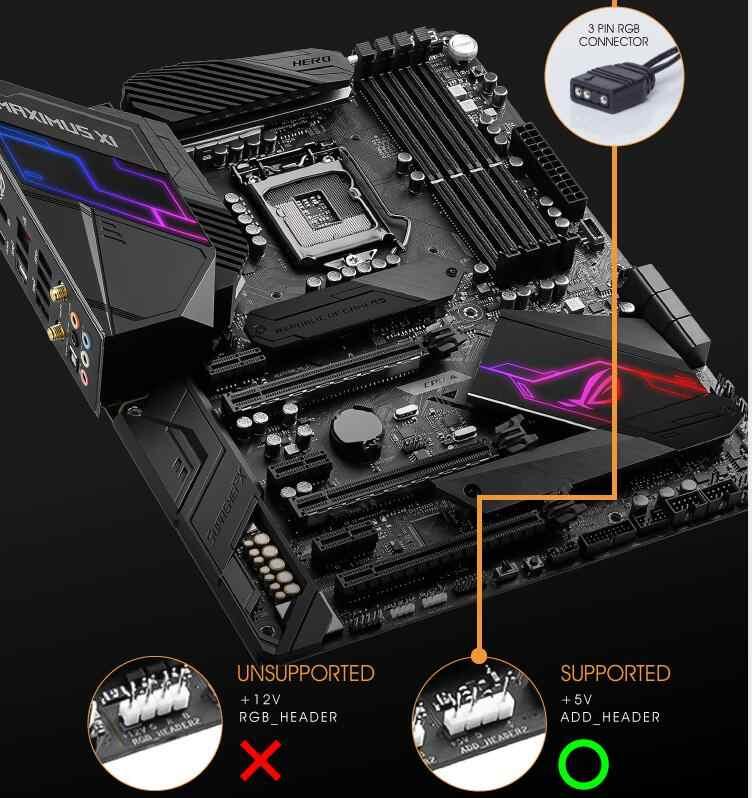 Aigo Darkflash Rgb Pc Case Fan 120 Mm Computer Case Cpu Cooling Fans Rustig 3P-5V Aura sync Cooler Cooling Passen Snelheid Led Pc Fan