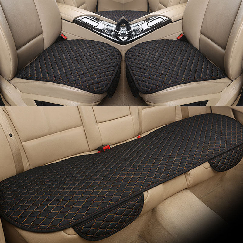 KANGLIDA Car Seat Cushion Universal Seat Covers Car Seat Protector Breathable Car Chair Mat For <font><b>mercedes</b></font> w211 skoda octavia 2 image