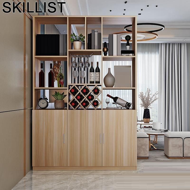 Mobili Per La Casa Display Mobilya Cristaleira Gabinete Table Meuble Living Room Mesa Mueble Shelf Bar Furniture Wine Cabinet