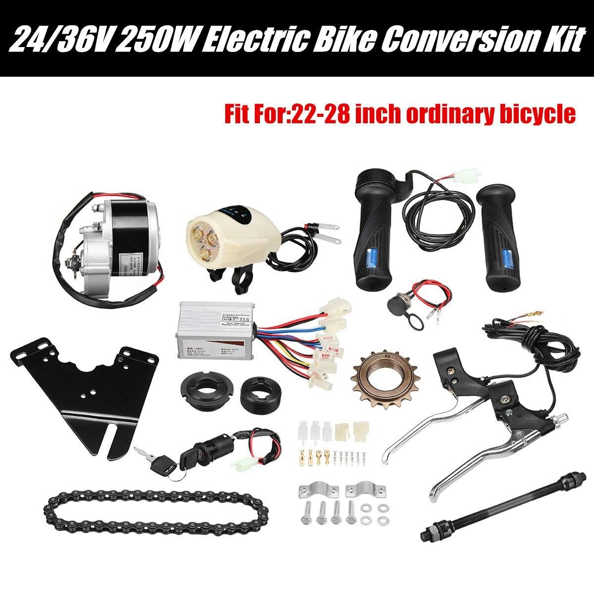 250W 24V DC Motor Regler Motor Controller Fahrrad Elektrische eBike Conversion Kit Zubehör für 22-28 Elektrische fahrrad E-bike