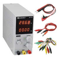 New Upgrade 4 Digit Display DC Power Supply 30V 10A Adjustable High Precision Switching Regulator Laboratory Power Supply Repair