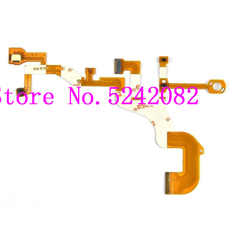 NEW <font><b>Lens</b></font> Back Main Flex For <font><b>SONY</b></font> DSC-WX300 DSC-<font><b>WX350</b></font> WX300 <font><b>WX350</b></font> Digital Camera Repair Part + Sensor + Socket image
