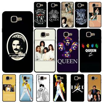YNDFCNB Freddie Mercury Queen Band Phone Case for Samsung A6 A8 Plus A7 A9 A20 A20S A30 A30S A40 A50 A70 image