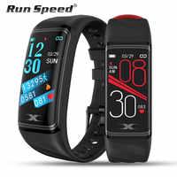 Smart Bracelet IP68 Waterproof 1.14inch Smart Band Heart Rate Blood Pressure Monitor Pedometer Fitness Traker Smart Wristband