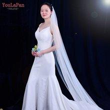 Youlapan v71 белого цвета и слоновой кости Свадебные фаты для