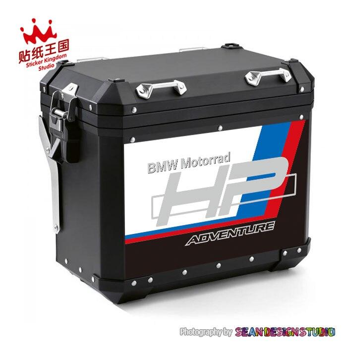 Für HP STIL BMW Motorrad F750GS F800GS F850GS R1200GS R1250GS ADV Motorrad Seite Box Fall Set Aufkleber Wasserdicht Aufkleber M22