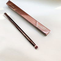 Sanduhr Gewölbte Schatten Make-Up Pinsel No.9 Metall dark-bronze Griff Synthetische Lidschatten Smokey Wisch Pinsel Schönheit Kosmetik Werkzeug