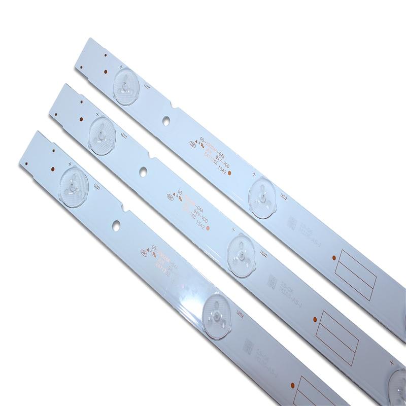 100%New 9 PCS/set LED Backlight Strip 5800-W32001-3P00 05-20024A-04A For LC320DXJ-SFA2 32HX4003 7LED 607mm