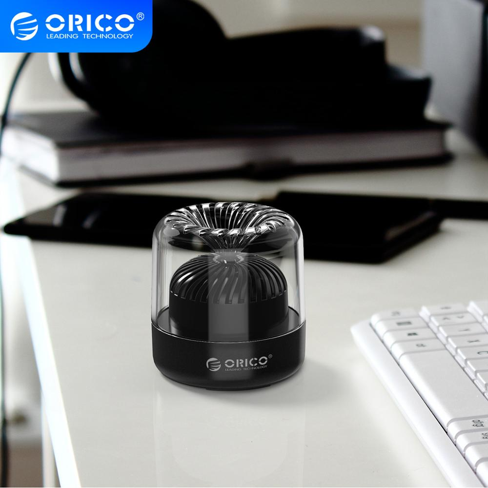 Orico Mini Wireless Bluetooth 4.2 Speaker Sound System 3D Stereo Music Surround Portable Speaker for Computer Gaming Music