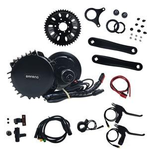 Image 5 - BAFANG 1000W 52V, фара для электровелосипеда в середине приводной двигатель BBS03 BBSHD центральный двигатель Запчасти 48V E велосипедный комплект для переоборудования электрического велосипеда 8Fun