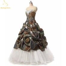 Bealegantom бальное платье с аппликацией камуфляж Бальные платья